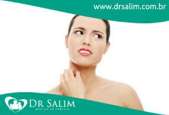 Você já teve alergia de pele?