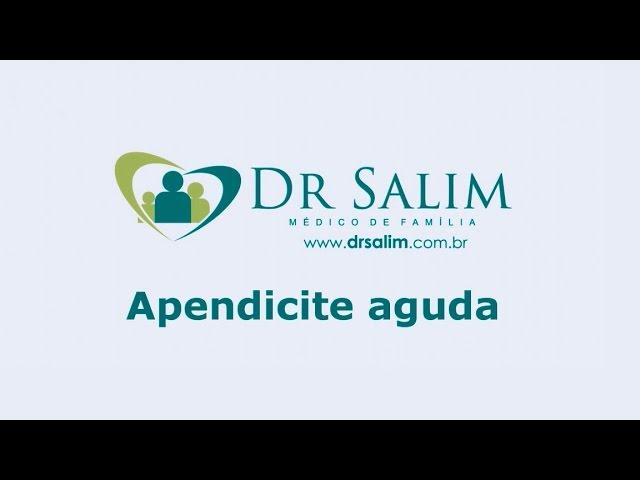 Você sabe quais os sintomas e tratamento da apendicite aguda?