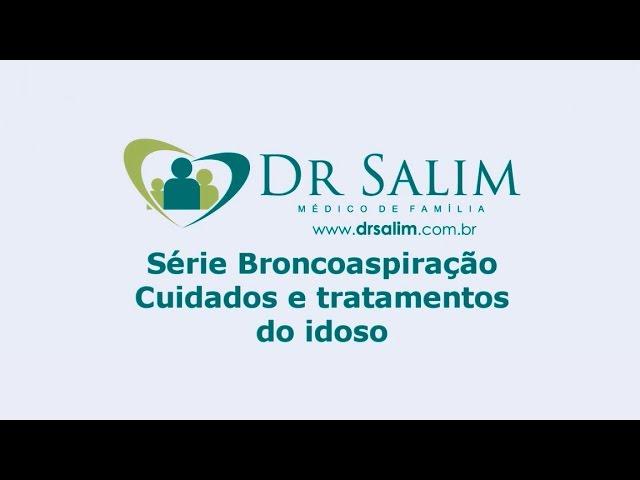 Quais são os tipos de tratamento para a broncoaspiração?