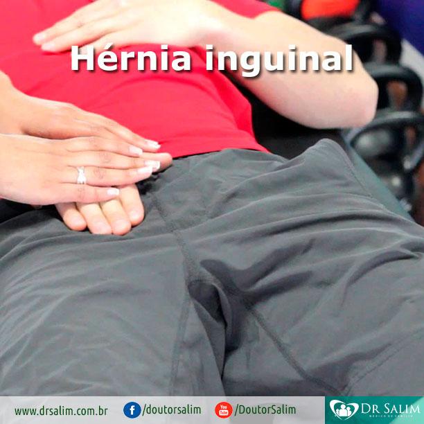 A hérnia inguinal pode voltar depois de ser operada?