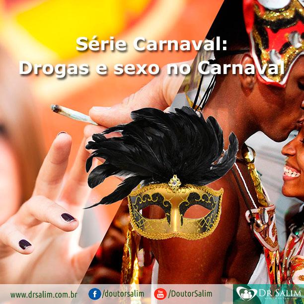 Cuidado com as drogas nas festas de Carnaval!