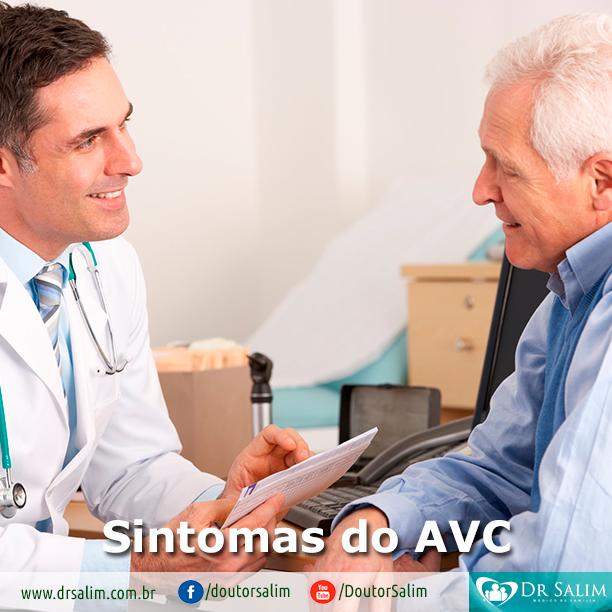 Quais são os sintomas do AVC?