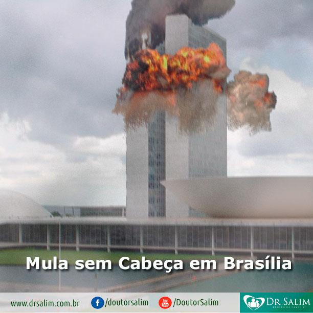 Mula sem Cabeça em Brasília