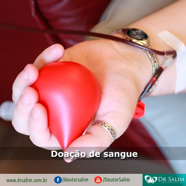 Hoje, dia 14 de junho, é o Dia Mundial do Doador de Sangue!