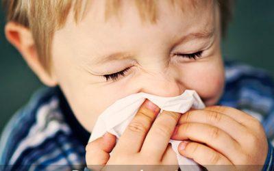 Cuidado com as alergias nessa época no ano!
