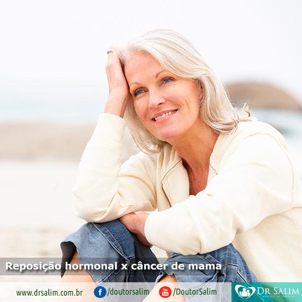 Reposição hormonal x câncer de mama