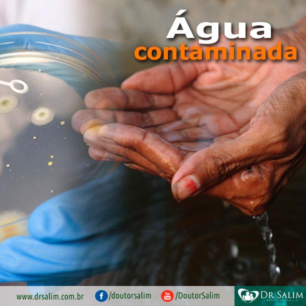 Água contaminada, é possível contrair infecção?