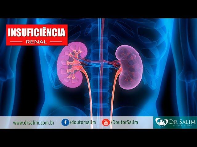 Insuficiência renal pode chegar lentamente ou de forma súbita