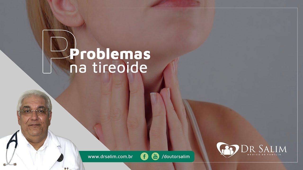 Problema na tireoide causa depressão e crise de ansiedade