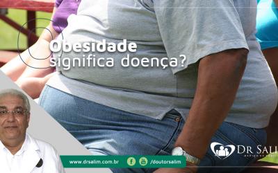 Obesidade – o sedentarismo agrava muito o excesso de peso