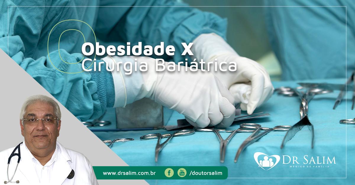 Obesidade não se controla com cirurgia bariátrica