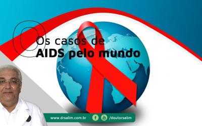 Casos de Aids caem 11% no mundo e aumentam 3% no Brasil
