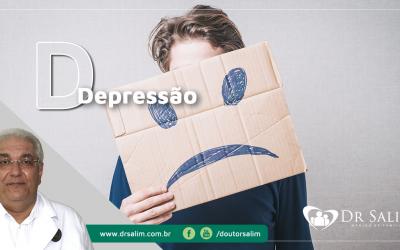 Depressão é doença e precisa de remédio