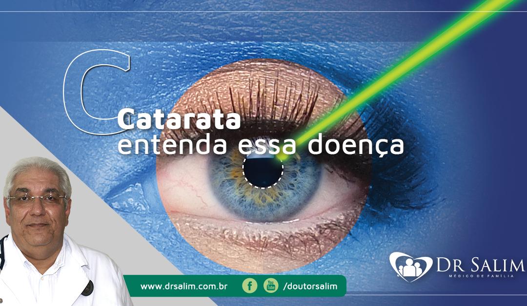 Catarata, o principal motivo de cegueira no mundo