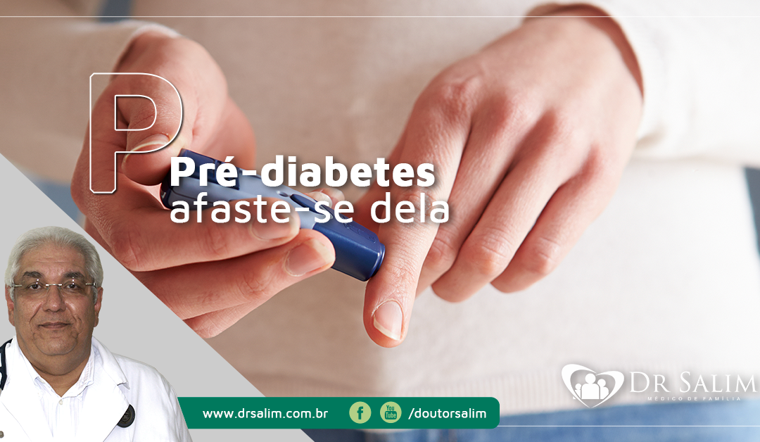 Pré-diabetes: mude seu estilo de vida e afaste o risco da doença