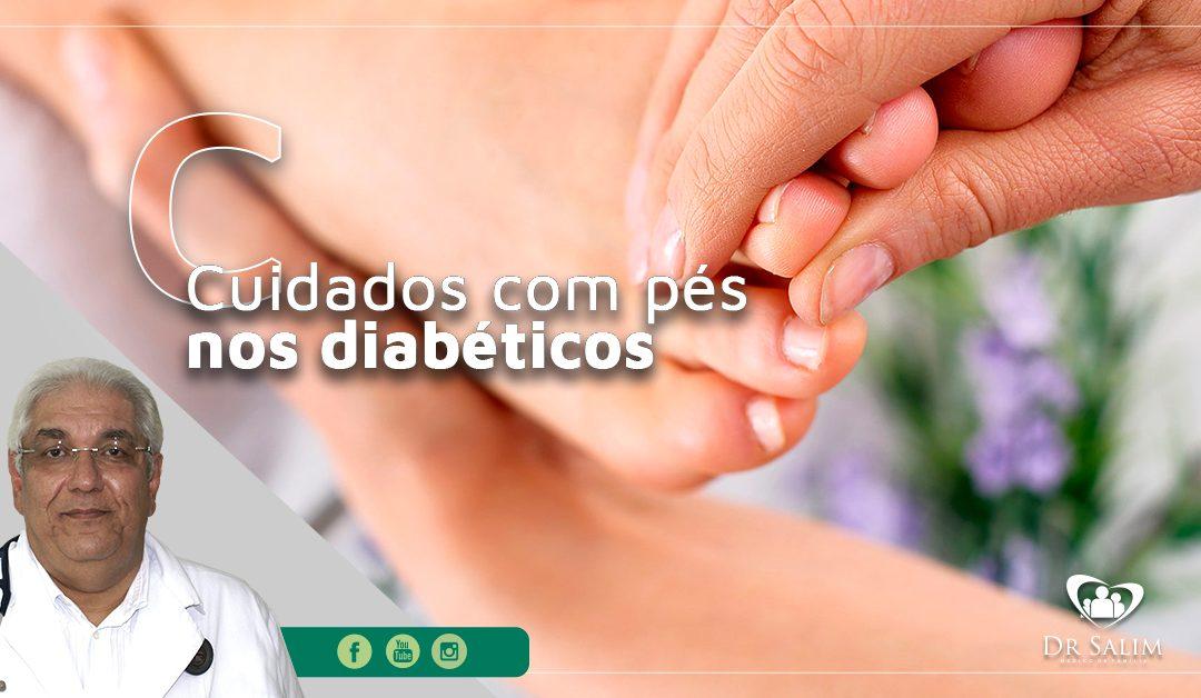 Pés diabéticos, cuidados