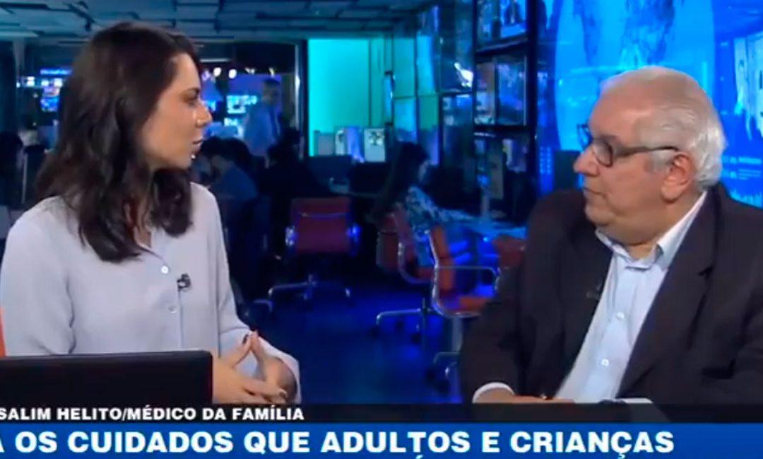 PROBLEMAS RESPIRATÓRIOS EXIGEM CUIDADOS | BandNewsTV e Dr. Salim