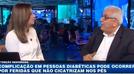 Pés diabéticos, cuidados | BandNewsTV e Dr. Salim