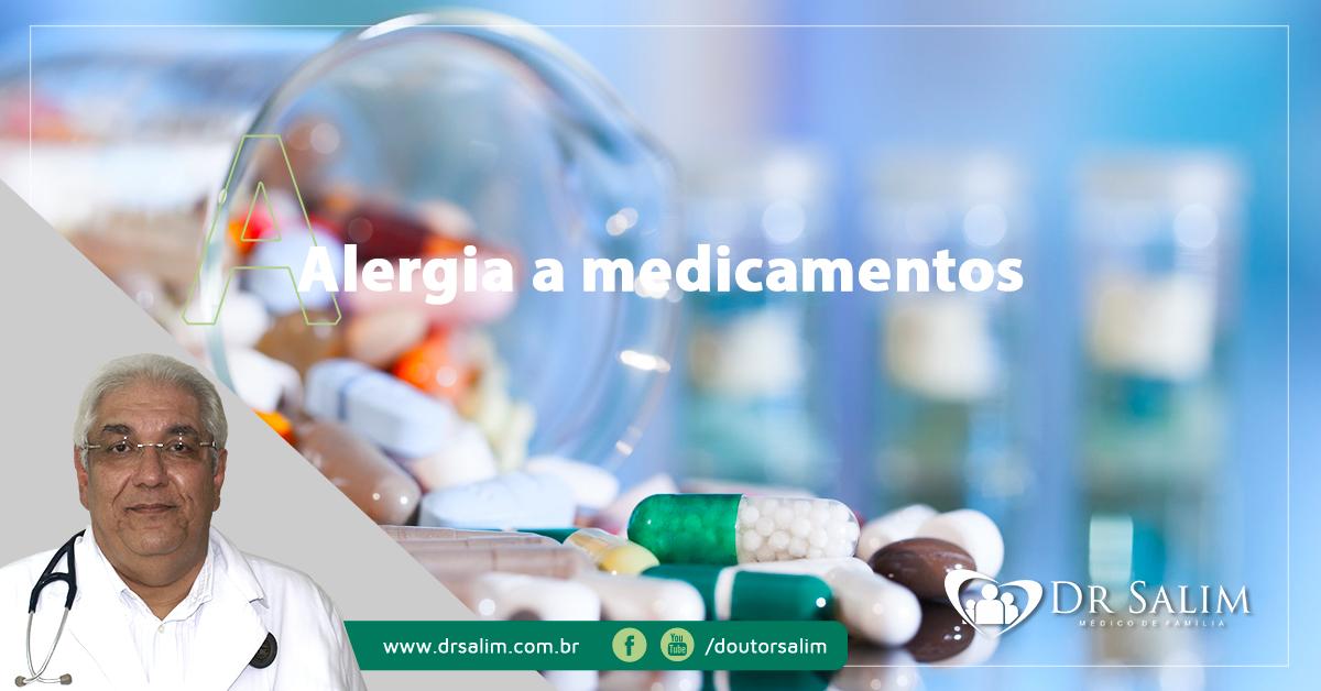 Alergias e reações a medicamentos