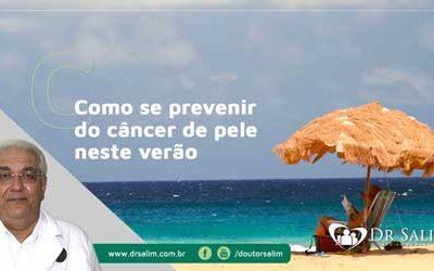 Como se prevenir de câncer de pele no verão