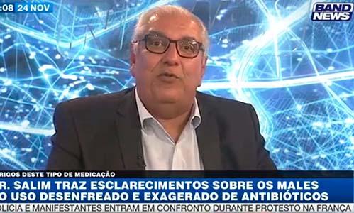 Uso inadvertido de antibióticos | Dr. Salim Entrevista Band News