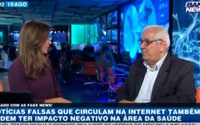Fake News – notícias falsas na medicina | BandNewsTV e Dr. Salim