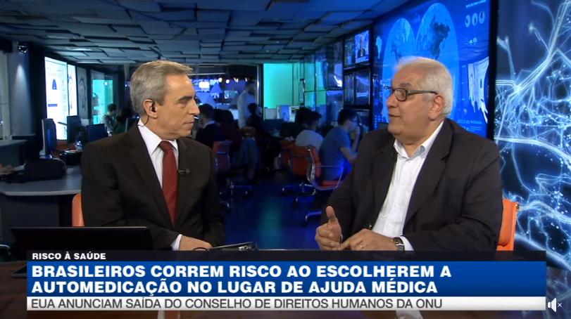 Brasileiros correm riscos ao se automedicarem | Dr. Salim Entrevista Band News