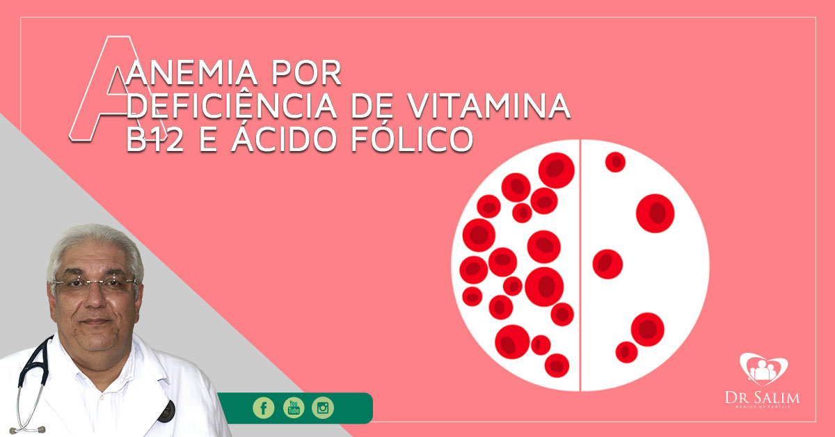 anemia acido folico vitamina b12