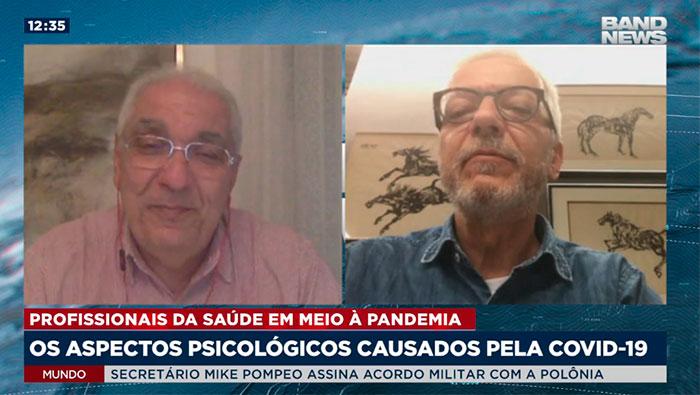 A imagem mostra o Dr. Salim e o Gustavo Amarante.
